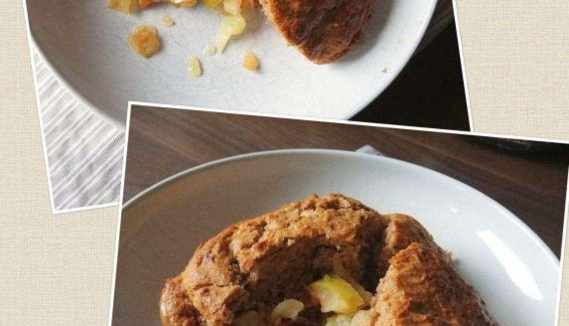 Eva's Apple & Plum Pudding