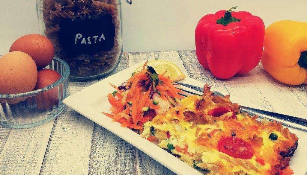 One Pot Pasta Frittata